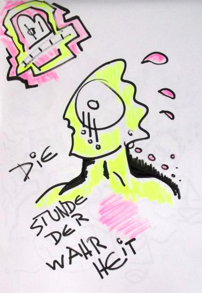 Zeichnung auf Papier 2015